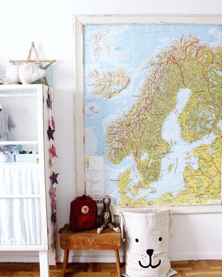 N O R D E N  #kidsroom #minikånken#fjällräven #tellkiddo