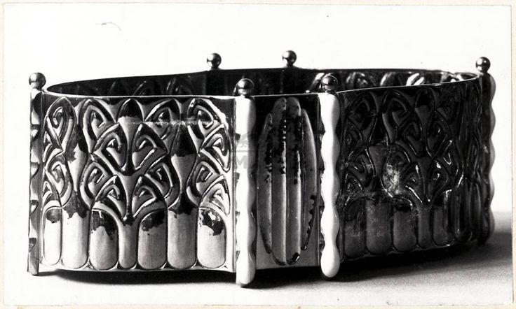 """** Czeschka, Carl Otto / Wiener Werkstätte, """"Zuckerdose"""", 1906:"""