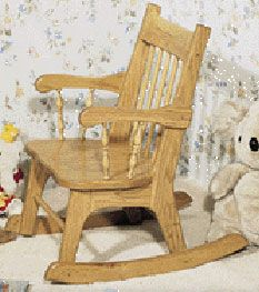 Childrens Rocking Chair Plan