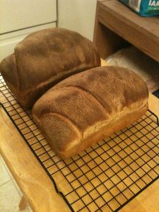 When we had a birthday in the family my mom would make this delicious bread.