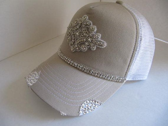 trucker hat hats cap womens baseball caps with bling ladies