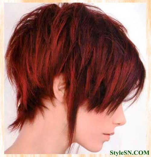 womens hairstyles Color Ideas for Short Hair 2014 -StyleSN