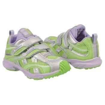 TSUKIHOSHI Child 35 Tod/Pre Shoes (Lime/Lavendar) - Kids' Shoes