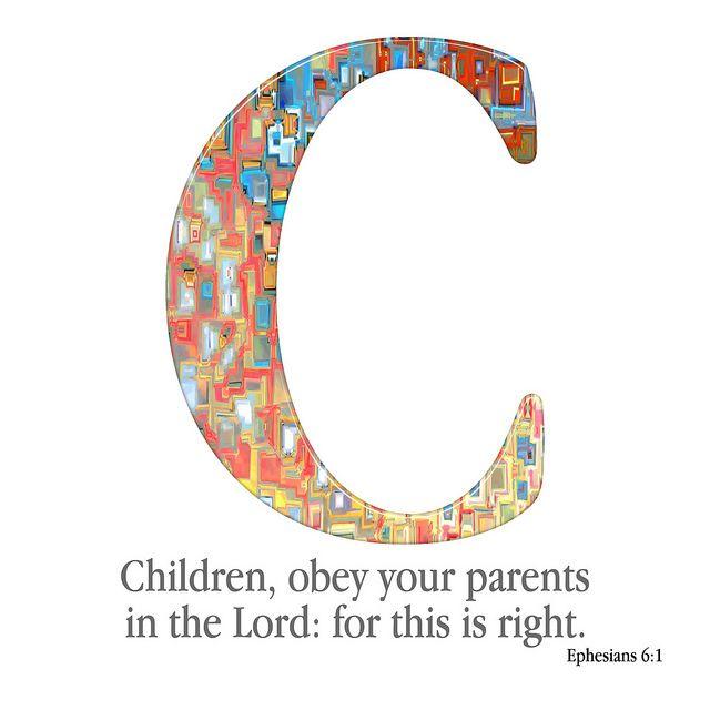 C. The Bible Verse Alphabet | Flickr - Photo Sharing!