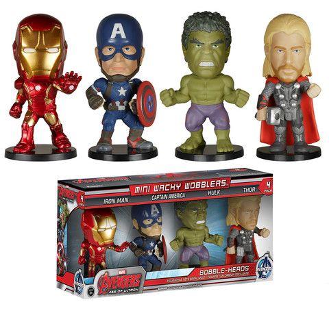 Mini Wacky Wobblers Set: Avengers 2 | Funko
