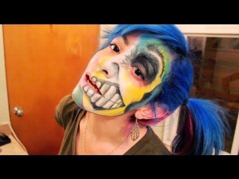 maquillaje para halloween - YouTube
