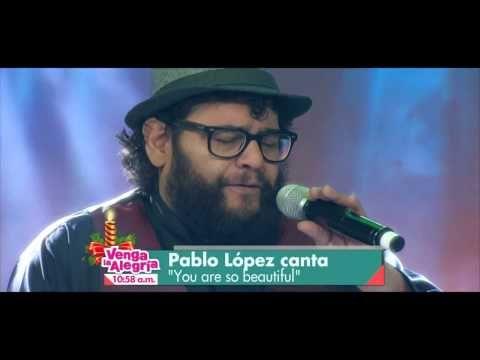 PABLO LOPEZ VENGA LA ALEGRIA 19 DICIEMBRE 2014 - YouTube