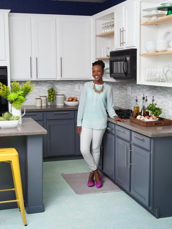 A Colorful Kitchen Makeover - 25+ Best Ideas About Color Kitchen Cabinets On Pinterest Colored