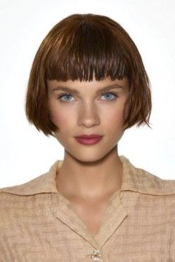 1920s bob hairstyle | Coiffure St. Algue 1920s inspired bob