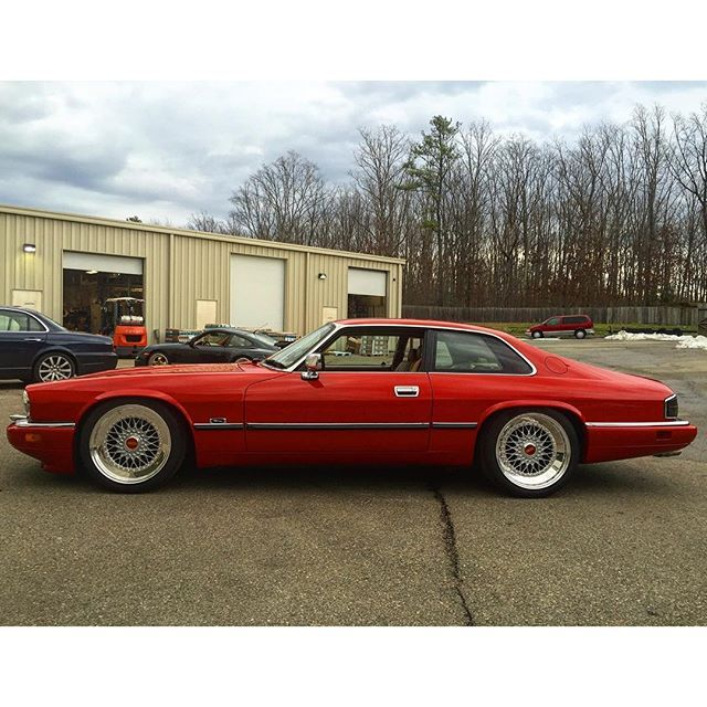 My Jaguar XJS on BBS RS and custom suspension