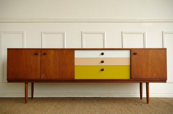 1000 ideas about teak sideboard on pinterest credenzas mid century and retro sideboard. Black Bedroom Furniture Sets. Home Design Ideas