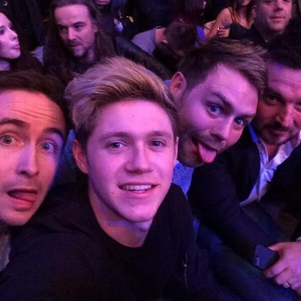 Niall and Paul and Brian Mcfadden