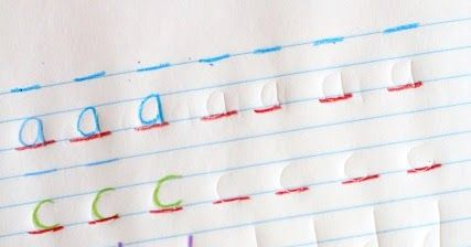 "Use colored pencils to work on handwriting with these three handwriting activities that address letter formation, pencil pressure, and pencil control. These are fun can creative handwriting ideas for kids that ""hate"" handwriting!"