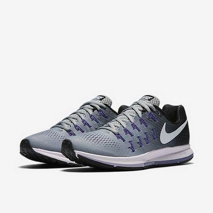 Nike Air Zoom Pegasus 33 Stealth Black Fierce Purple White 831356 ... 787e357f59c