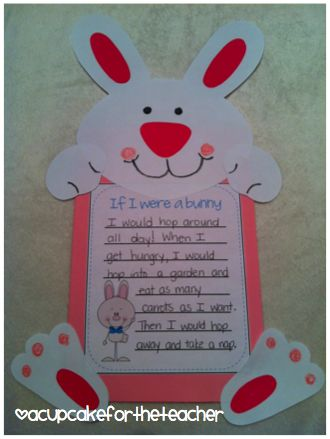 17 best my classroom images on pinterest easter easter ideas and who wants to be the easter bunny other fun easter writing prompts creative writingwriting ideaswriting promptskindergarten negle Image collections