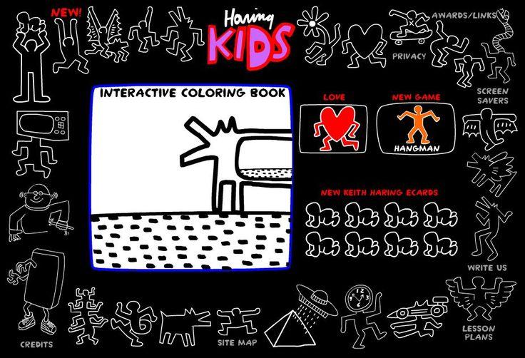 Keith Haring e il Louvre: due siti per bambini - incontralarteincontralarte