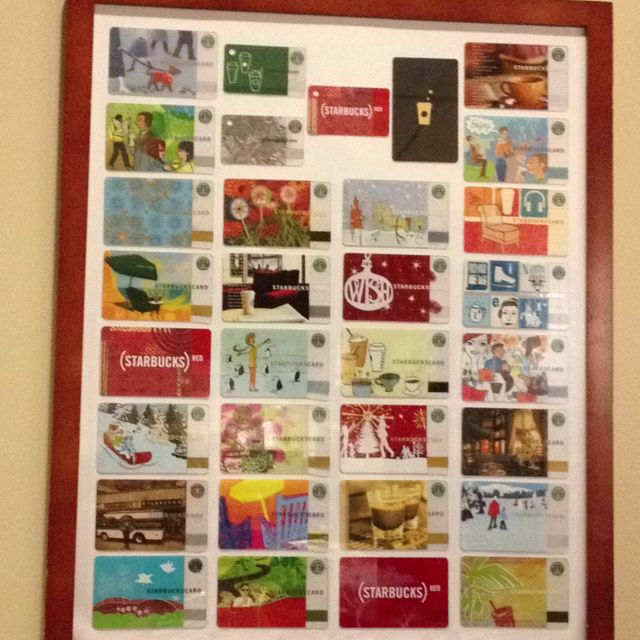 89 best Starbucks card collection images on Pinterest | Gift cards ...