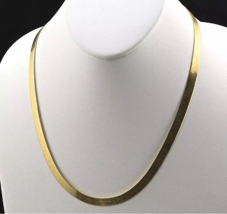 14K Gold Plated 24in Herringbone Chain by ProGrillz on Etsy https://www.etsy.com/listing/479368352/14k-gold-plated-24in-herringbone-chain
