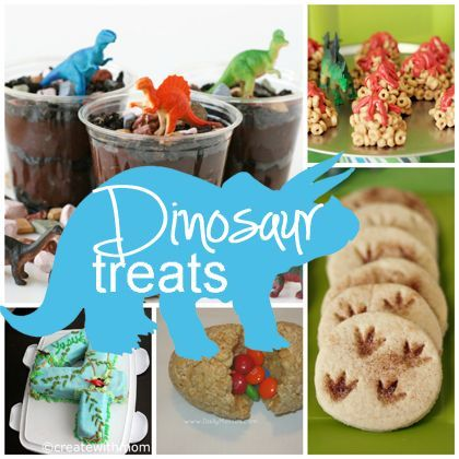 """Dinosaur Treats -- I made this for my daughter's 4K classroom as a snack for """"D"""" Dinosaur week. It was a HUGE hit!!!!"""