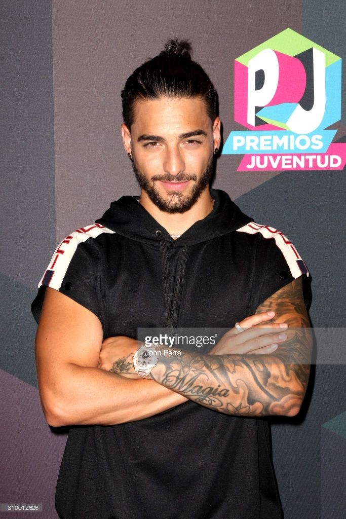Maluma attends the Univision's 'Premios Juventud' 2017 Celebrates The Hottest Musical Artists And Young Latinos Change-Makers - Media Center at the Watsco Center on July 6, 2017 in Coral Gables, Florida.