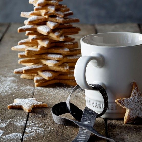 Go traditional: bake a generous batch of spicy ginger Christmas biscuits and cut…