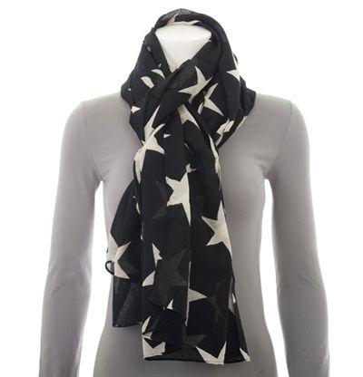Dixie scarf - trendy with big stars :)
