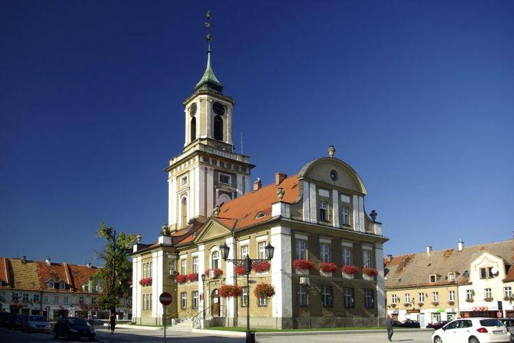 Ratusz w Świebodzicach – klasycystyczna budowla wzniesiona w latach 1779-1781, według projektu Christiana Valentina Schulze. Ratusz został przebudowany na początku XX wieku, obecnie jest siedzibą władz miejskich Świebodzic.