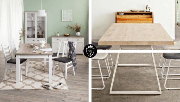 Oltre 25 fantastiche idee su tavoli in legno su pinterest tavolo in legno tavoli in legno per - Mobili in legno sbiancato ...
