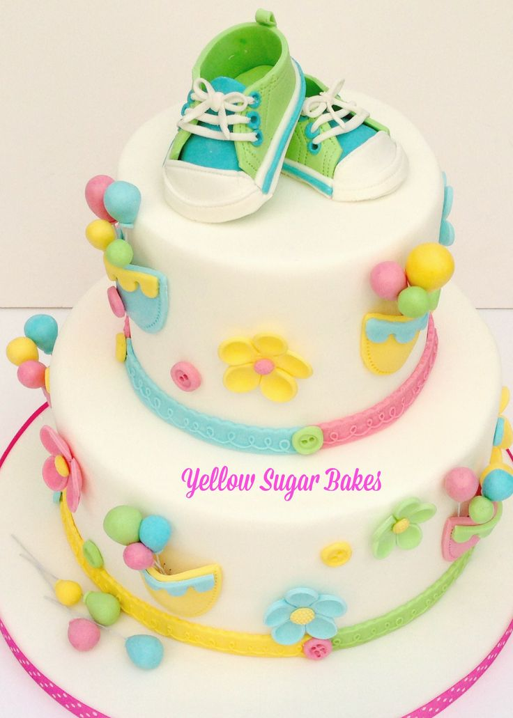 Christening Cake - All Stars theme