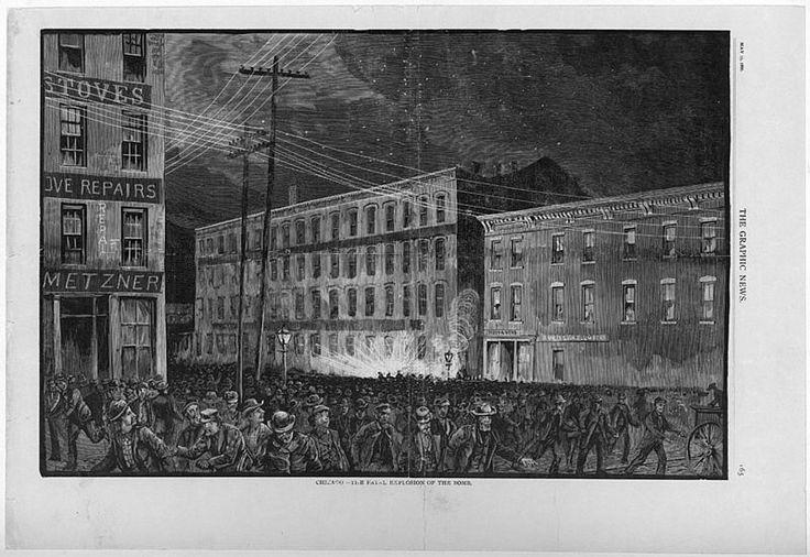 La Revolta d'Haymarket va tenir lloc a Haymarket Square (Chicago, EUA) el 4 de maig de 1886 i va ser el punt culminant d'un seguit de protestes obreres que, des de l'1 de maig, s'havien estat produïnt per reivindicar la jornada laboral de vuit hores. El resultat va ser la condemna a mort de cinc treballadors anarquistes, un fet que donà lloc a la commemoració del Primer de Maig, Dia Internacional dels Treballadors.