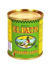 Picture of Salsa de Jalapeno - Jalapeño Salsa by El Pato 7.75 oz (Pack of 6) - Item No. 1275