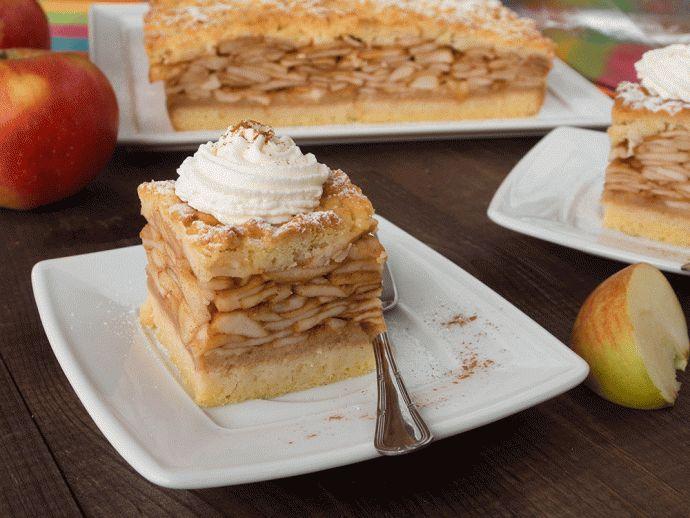 Szarlotka z dużą ilością jabłek #recipe #panitereska