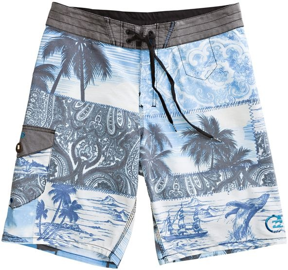 BILLABONG PEACED OUT BOARDSHORT BLUE > Mens > Clothing > Boardshorts | Swell.com