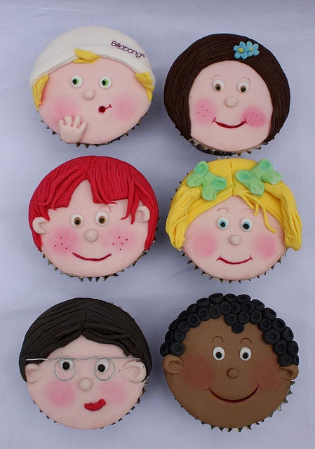 I would love to make custom cupcakes for one of the kids birthday parties some day!