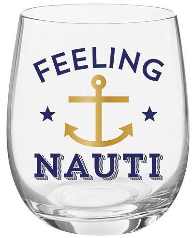 Feeling Nauti Stemless Wine Glass by Slant