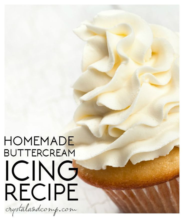 A super easy, fail-proof homemade buttercream icing recipe that is amazing!