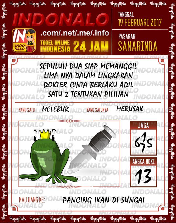 Taysen Hoki 3D Togel Wap Online Live Draw 4D Indonalo Samarinda 19 Februari 2017