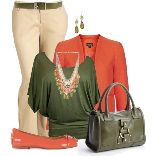 """""""Trio of Color Plus Size"""" by penny-martin on Polyvore"""