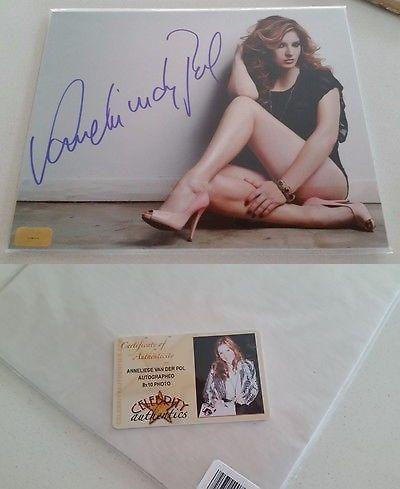 Celebrity Autographs: Anneliese Van Der Pol Signed 8X10 Photo Autographed Stilettos Singer Coa Ca -> BUY IT NOW ONLY: $28 on eBay!