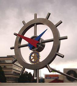 Rotary Club Clock. Aukland, NZ