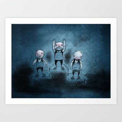 Winnaz Art Print by Seethelove - $18.72