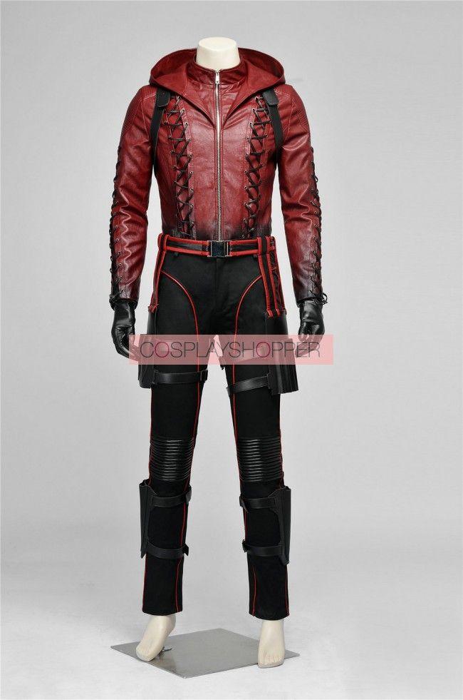 Arrow 3 Red Arrow Roy Harper Arsenal Cosplay Costume
