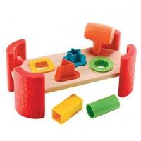 ELC Wooden Hammer Bench - Interactive Toys - Toys | Baby Bunting