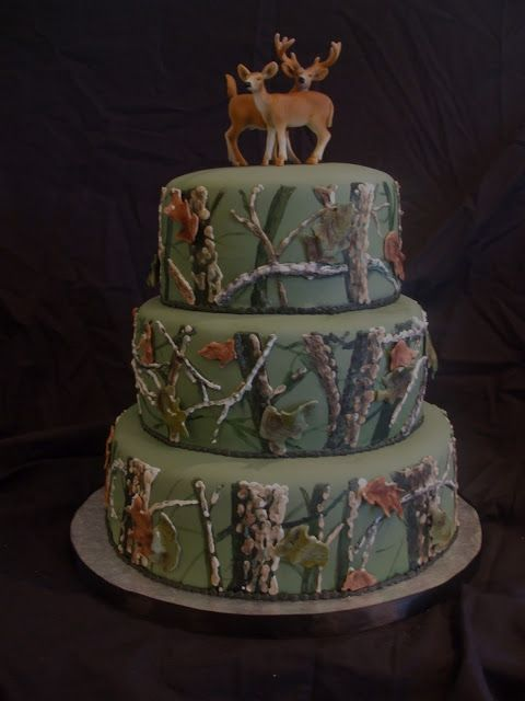 Whitetail Deer Wedding Cake Cakes Who Doesn T Love Cake