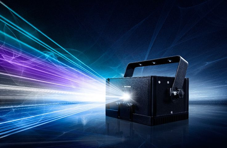 LaserDock Home Laser Show System - 1W RGB Laser Projector stage 1w rgb laser light