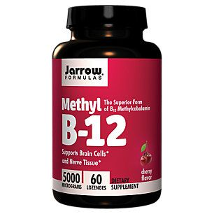 Buy Methyl B12 5000 MCG - Cherry (60 Lozenges) from the Vitamin Shoppe. Where you can buy Methyl B12 - Cherry and other Jarrow Formulas products? Buy at at a discount price at the Vitamin Shoppe online store. Order today and get free shipping on Methyl B12 - Cherry (UPC:790011180043)(with orders over $35).