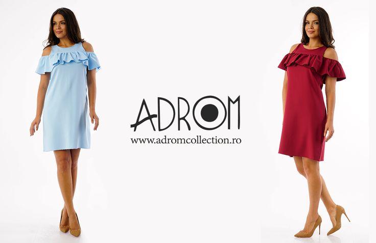 Rochia R671 este un model lejer şi comod, perfect pentru orice ocazie. O poţi comanda de aici:   Link rochie R671: http://www.adromcollection.ro/rochii/753-rochie-angro-r671.html
