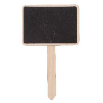 EUR0.25- Plantensteker schoolbord 7x5cm