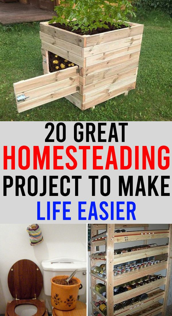 20 Great Homesteading Projects To Make Life Easier  – Home and Garden