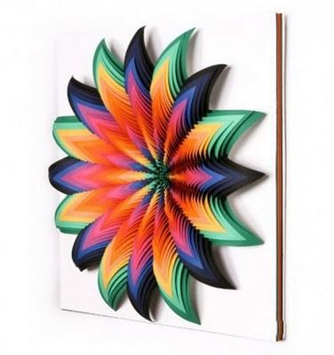 25 best ideas about construction paper art on pinterest for 3d paper craft ideas from jen stark
